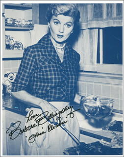 BARBARA BILLINGSLEY - AUTOGRAPHED SIGNED PHOTOGRAPH