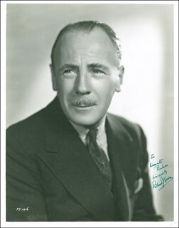 ROLAND YOUNG - AUTOGRAPHED INSCRIBED PHOTOGRAPH