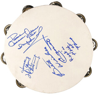 LITTLE ANTHONY AND THE IMPERIALS - EPHEMERA SIGNED CO-SIGNED BY: LITTLE ANTHONY AND THE IMPERIALS (ANTHONY GOURDINE), LITTLE ANTHONY AND THE IMPERIALS (CLARENCE COLLINS), LITTLE ANTHONY AND THE IMPERIALS (ERNEST WRIGHT)