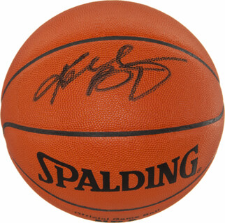 KOBE BRYANT - BASKETBALL SIGNED
