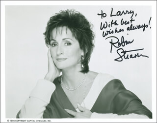 ROBIN STRASSER - AUTOGRAPHED INSCRIBED PHOTOGRAPH
