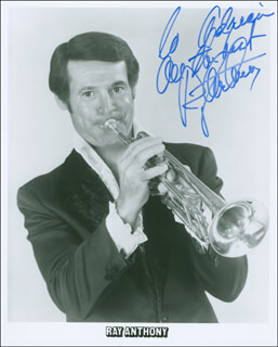 Autographs: RAY ANTHONY - INSCRIBED PHOTOGRAPH SIGNED