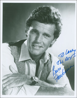BRUCE FAIRBAIRN - AUTOGRAPHED INSCRIBED PHOTOGRAPH