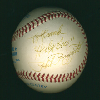 PHIL RIZZUTO - INSCRIBED BASEBALL SIGNED