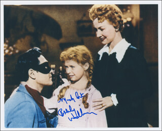 BEVERLY WASHBURN - AUTOGRAPHED SIGNED PHOTOGRAPH