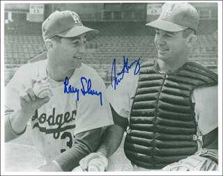 NORM SHERRY - AUTOGRAPHED SIGNED PHOTOGRAPH CO-SIGNED BY: LARRY SHERRY