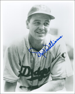 DICK WILLIAMS - AUTOGRAPHED SIGNED PHOTOGRAPH