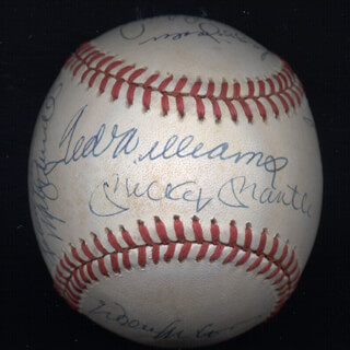 500 Home Run Hitters Memorabilia 29039