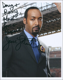 JESSE L. MARTIN - AUTOGRAPHED INSCRIBED PHOTOGRAPH