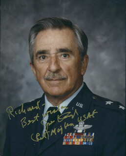 MAJOR GENERAL JOSEPH J. KRUZEL - AUTOGRAPHED INSCRIBED PHOTOGRAPH
