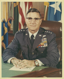 GENERAL WILLIAM W. MOMYER - AUTOGRAPHED INSCRIBED PHOTOGRAPH