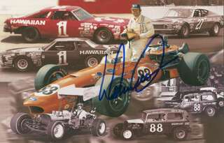 DONNIE ALLISON - AUTOGRAPHED SIGNED PHOTOGRAPH
