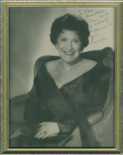 LOUELLA O. PARSONS - AUTOGRAPHED INSCRIBED PHOTOGRAPH
