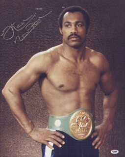 KEN NORTON - AUTOGRAPHED SIGNED PHOTOGRAPH