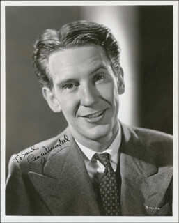 BURGESS MEREDITH - AUTOGRAPHED INSCRIBED PHOTOGRAPH