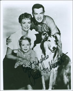 JUNE LOCKHART - AUTOGRAPHED SIGNED PHOTOGRAPH  - HFSID 290823