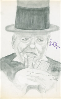 ROD STEIGER - ORIGINAL ART SIGNED
