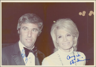 BURT BACHARACH - AUTOGRAPHED SIGNED PHOTOGRAPH CO-SIGNED BY: ANGIE DICKINSON