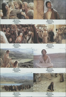 THE LAST TEMPTATION OF CHRIST - POSTER UNSIGNED