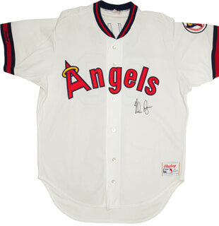 NOLAN RYAN - JERSEY SIGNED