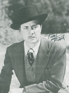 TERRY FROST - AUTOGRAPHED SIGNED PHOTOGRAPH