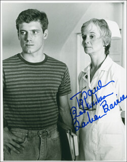 BARBARA BARRIE - AUTOGRAPHED INSCRIBED PHOTOGRAPH