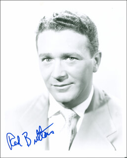 RED BUTTONS - AUTOGRAPHED SIGNED PHOTOGRAPH