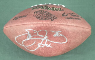 EMMITT SMITH - FOOTBALL SIGNED