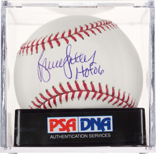 BRUCE SUTTER - AUTOGRAPHED SIGNED BASEBALL
