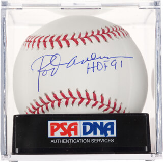 ROD CAREW - AUTOGRAPHED SIGNED BASEBALL