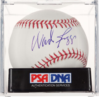 WADE BOGGS - AUTOGRAPHED SIGNED BASEBALL