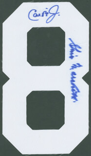 CAL RIPKEN JR. - EPHEMERA SIGNED CO-SIGNED BY: GINO MARCHETTI