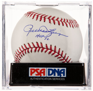 ROLLIE FINGERS - AUTOGRAPHED SIGNED BASEBALL