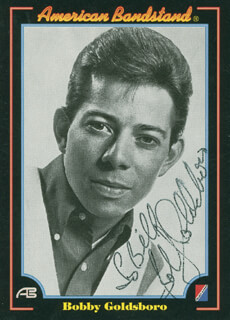 BOBBY GOLDSBORO - TRADING/SPORTS CARD SIGNED