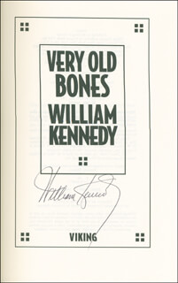 WILLIAM KENNEDY - BOOK SIGNED