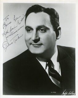 RICHARD TUCKER - AUTOGRAPHED INSCRIBED PHOTOGRAPH
