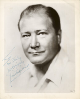 JOHN CHARLES THOMAS - AUTOGRAPHED INSCRIBED PHOTOGRAPH