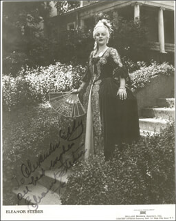 ELEANOR STEBER - AUTOGRAPHED INSCRIBED PHOTOGRAPH 1943
