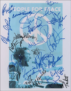 THE GUESS WHO (RANDY BACHMAN) - AUTOGRAPHED SIGNED PHOTOGRAPH CO-SIGNED BY: CHEECH & CHONG (TOMMY CHONG), THE MONKEES (PETER TORK), REO SPEEDWAGON (NEAL DOUGHTY), LYNYRD SKYNYRD (ARTIMUS PYLE), WAR (LONNIE JORDAN), TODD RUNDGREN, THE GUESS WHO (JIM MICHAEL JAMES KALE), THE GUESS WHO (GARY PETERSON), JOURNEY (STEVE SMITH), LITTLE FEAT (PAUL BARRERE), LITTLE FEAT (BILL PAYNE), LITTLE FEAT (FRED TACKETT), RARE EARTH (GIL BRIDGES), RARE EARTH (RAY MONETTE), GRAHAM CENTRAL STATION (LARRY GRAHAM), FLEETWOOD MAC (BOB WELCH), HEART (HOWARD LEESE), TALKING HEADS (TINA WEYMOUTH), THE ROMANTICS (WALLY PALMAR), PARLIAMENT-FUNKADELIC (BERNIE WORRELL), FRANK MARINO