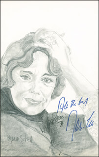 MARIA SCHELL - ORIGINAL ART SIGNED CO-SIGNED BY: PB SOCCI