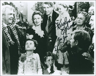 KAROLYN GRIMES - AUTOGRAPHED SIGNED PHOTOGRAPH