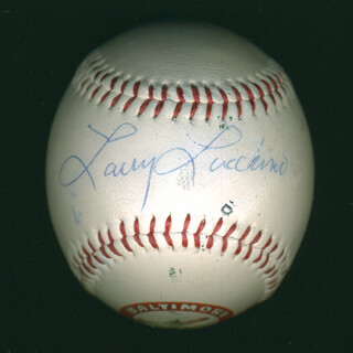 Autographs: LARRY LUCCHINO - BASEBALL SIGNED