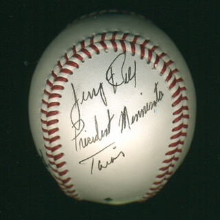 JERRY BELL - AUTOGRAPHED SIGNED BASEBALL