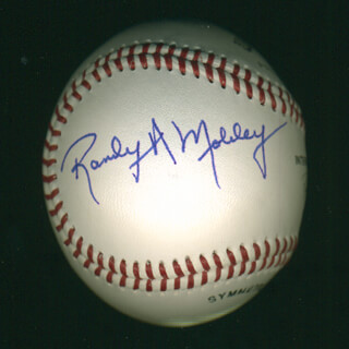 Autographs: RANDY A. MOBLEY - BASEBALL SIGNED