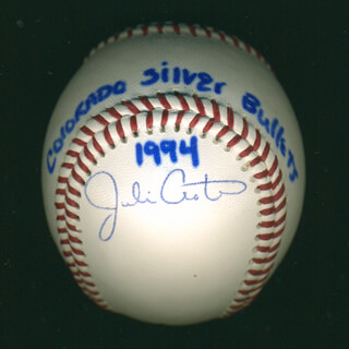 Autographs: JULIE CROTEAU - BASEBALL SIGNED