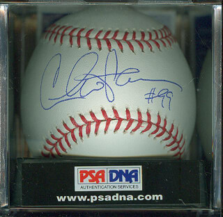 CHARLIE SHEEN - AUTOGRAPHED SIGNED BASEBALL