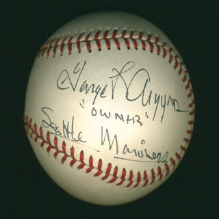 Autographs: GEORGE L. ARGYROS - BASEBALL SIGNED