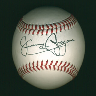 Autographs: JIMMY BRAGAN - BASEBALL SIGNED