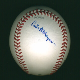 Autographs: PETER A. MAGOWAN - BASEBALL SIGNED