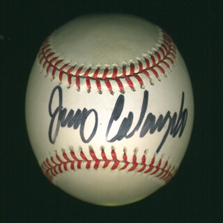 Autographs: JERRY COLANGELO - BASEBALL SIGNED